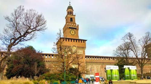 Entrada al Castello Sforzesco